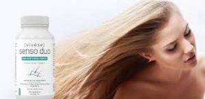 Vivese Senso Duo Capsules - remède contre la perte de cheveux - avis - Supplément - en pharmacie