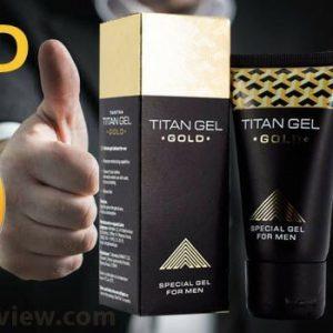 Titan gel gold - pour la puissance - France - action - crème