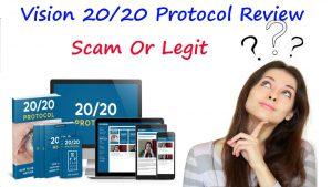 20/20 Protocol Vision Program - prix - pas cher - forum
